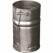 DURAVENT 4 IN. X 6.125 IN. TYPE B GAS VENT FEMALE ADAPTER FOR CHIMNEY PIPE
