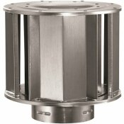 DURAVENT 4 IN. DIA X 8.5 IN. GAS VENT HIGH WIND CAP FOR CHIMNEY PIPE