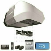 CHAMBERLAIN 1/2 HP EQUIVALENT DC CHAIN DRIVE WI-FI GARAGE DOOR OPENER WITH BATTERY BACKUP