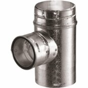 DURAVENT 5 IN. DIA X 4 IN. DIA GAS VENT REDUCER TEE