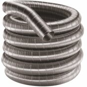 DURAFLEX AL 3 IN. DIA X 300 IN. ALUMINUM FLEX LENGTH CHIMNEY PIPE