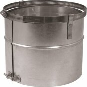 DURAFLEX AL 8 IN. X 8.625 IN. FLEX ADAPTER FOR DURAFLEX CHIMNEY PIPE