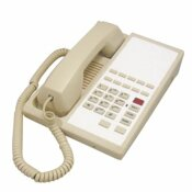 LODGING STAR HOTEL PHONE HTP SERIES WITH SPEAKER WITH 10 MEMORY, ASH