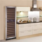 LODGING STAR 24 IN. W 172-BOTTLE DUAL ZONE BUILT IN WINE COOLER