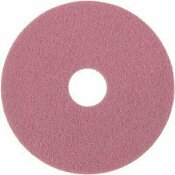 TWISTER 13 IN. PINK HT DIAMOND FLOOR PAD (2-COUT)