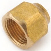 ANDERSON METALS 5/8 IN. X 1/2 IN. BRASS FLARE NUT FORGED (10-BAG)