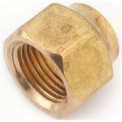 ANDERSON METALS 5/8 IN. BRASS FLARE NUT FORGED (10-BAG)