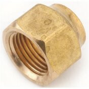 ANDERSON METALS 3/8 IN. BRASS FLARE NUT FORGED (10-BAG)