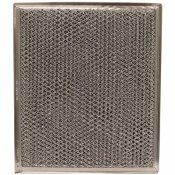 9 IN.X 10-1/2 IN.X 1/8 IN. DISH ALUMINUM MESH/CHARCOAL RANGE HOOD FILTER FOR PARTS WB2X8406,WB02X10700,WB02X8406(5-PACK)