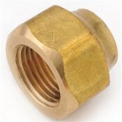 ANDERSON METALS 3/8 IN. BRASS FLARE NUT FORGED HEAVY (10-BAG)
