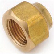 ANDERSON METALS 5/8 IN. BRASS FLARE NUT FORGED HEAVY (10-BAG)