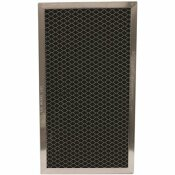 ALL-FILTERS ALL-FILTERS 6-1/8 IN. X 11 IN. X 3/8 IN. CARBON FILTER, REPLACEMENT FILTER FOR PART WB2X9883, JX81A (10-PACK)