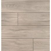 MSI 24 IN. X 6 IN. BALBOA ICE MATTE CERAMIC FLOOR AND WALL TILE (17 SQ. FT. / CASE)