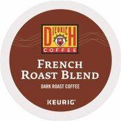 DIEDRICH COFFEE FRENCH ROAST COFFEE K-CUPS (24 PER BOX)