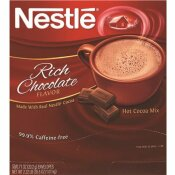 NESTLE 0.71 OZ. CHOCOLATE INSTANT HOT COCOA MIX (50/BOX)