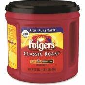 FOLGERS GROUND 30.5 OZ. CLASSIC ROAST REGULAR COFFEE CAN