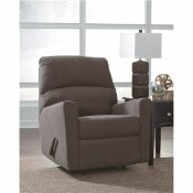 FLASH FURNITURE ALENYA CHARCOAL FABRIC ROCKER RECLINER