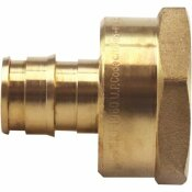 APOLLO 1/2 IN. BRASS PEX-A BARB X 3/4 FNPT REDUCING FEMALE ADAPTER