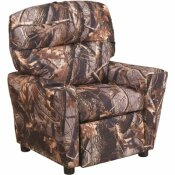 FLASH FURNITURE CAMOUFLAGE FABRIC CUP HOLDER RECLINER