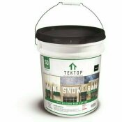 SIMIRON TEKTOP 5 GAL. BLACK 100% SILICONE HIGH SOLIDS ROOF COATING