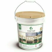 SIMIRON TEKTOP 5 GAL. TAN 100% SILICONE HIGH SOLIDS ROOF COATING