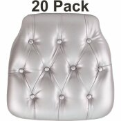 CARNEGY AVENUE SILVER CHAIR PAD (SET OF 20)