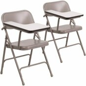CARNEGY AVENUE BEIGE TABLET ARM CHAIRS (SET OF 2)