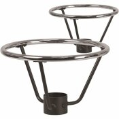 CARNEGY AVENUE SILVER TABLE BASE ONLY (SET OF 2)