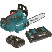 MAKITA 14 IN. 18-VOLT X2 (36-VOLT) 5.0AH LXT LITHIUM-ION BRUSHLESS CORDLESS TOP HANDLE CHAIN SAW KIT