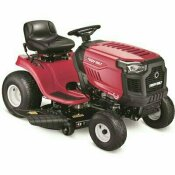 TROY-BILT BRONCO 42 IN. 547 CC ENGINE AUTOMATIC DRIVE GAS RIDING LAWN TRACTOR WITH MOW IN REVERSE