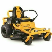 CUB CADET ULTIMA ZT1 46 IN. FABRICATED DECK 679 CC V-TWIN OHV GAS ENGINE ZERO TURN MOWER WITH LAP BAR CONTROL
