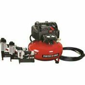 NOT FOR SALE - 312030570 - NOT FOR SALE - 312030570 - PORTER-CABLE 6 GAL. PORTABLE ELECTRIC AIR COMPRESSOR WITH 16-GAUGE, 18-GAUGE AND 23-GAUGE NAILER COMBO KIT (3-TOOL) - PORTER-CABLE PART #: PCFP3KIT