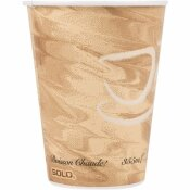 SOLO 12 OZ. MISTIQUE POLY LINED PAPER HOT CUP (1000 PER CASE)