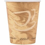 SOLO 10 OZ. MISTIQUE POLY LINED PAPER HOT CUP (1000 PER CASE)