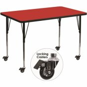 CARNEGY AVENUE RED KIDS TABLE