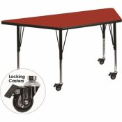 CARNEGY AVENUE 25.37 IN. RED KIDS TABLE