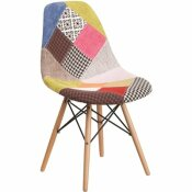CARNEGY AVENUE MILAN PATCHWORK SIDE CHAIR