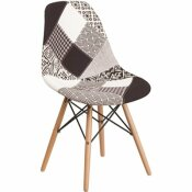 CARNEGY AVENUE TURIN PATCHWORK SIDE CHAIR