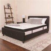 CARNEGY AVENUE WHITE QUEEN MATTRESS ONLY