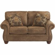 FLASH FURNITURE EARTH FAUX LEATHER LOVESEAT