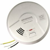 COMBINATION 2-IN-1 SMOKE AND FIRE ALARM DETECTOR HARDWIRED 10-YEAR SEALED BATTERY BACKUP MULTI-CRITERIA DETECTION - UNIVERSAL SECURITY INSTRUMENTS PART #: AMI1061SB