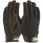 MAXIMUM SAFETY LARGE PROFESSIONAL MECHANIC'S GLOVES (12 PAIRS OF GLOVES)