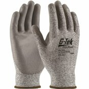 G-TEK X-LARGE BLENDED SHELL WITH POLYURETHANE COATED CUT RESISTANT GLOVE - A2
