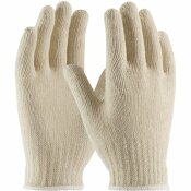 PIP LARGE ECONOMY WEIGHT SEAMLESS KNIT COTTON/POLYESTER GLOVE - 7-GAUGE (12 PAIRS OF GLOVES)