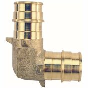 APOLLO 3/4 IN. BRASS PEX-A EXPANSION BARB 90-DEGREE ELBOW