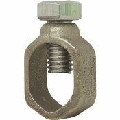 SOUTHWIRE 5/8 IN. GROUNDING ROD OR 1/2 IN. REBAR GROUND ROD CLAMP FOR #10 SOL/STR - #2 STR WIRE
