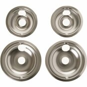 GE 2 IN. TO 6 IN. AND 2 IN. TO 8 IN. GE CHROME ELECTRIC RANGE DRIP BOWL KIT