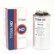TITAN HD 35+3 MFD 440/370-VOLT ROUND RUN CAPACITOR