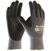 NOT FOR SALE - 312928342 - NOT FOR SALE - 312928342 - UNISEX LARGE SEAMLESS KNIT NYLON/LYCRA GLOVE WITH NITRILE COATED MICRO-FOAM GRIP (1-DOZEN PAIRS) - PIP PART #: 34-874T/L
