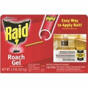 RAID 1.5 OZ. ROACH GEL - RAID PART #: 697332